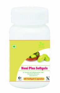 Hawaiian Herbal Noni Softgel Capsule 60 Softgels