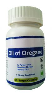 Hawaiian Herbal Oil Of Oregano Softgel