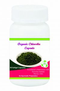 Hawaiian Herbal Organic Chlorella Softgel Capsule 60 Softgels