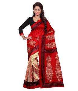 Designer Sarees - Vellora Multi Colour Designer Bhagalpuri Printed Saree_gfs1681vegf.2