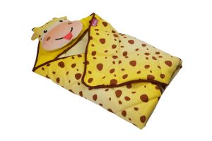 Baby sleeping bags - Little Innocent Cartoon Printed Baby Wrapper And Sleeping Bag