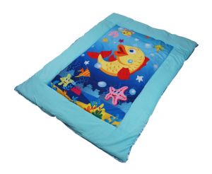 Baby bedding - Little Innocent Fish Printed Quilts