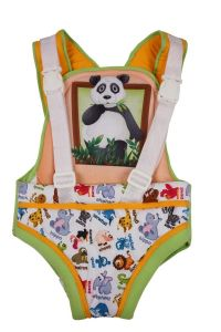 Baby carriers - Little Innocent Sleepwell Grib Baby Carrier Panda Printed
