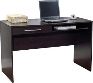 Home Utility Furniture - Afydecor Contemporary Rectangular Study Table With One Drawer Having Metal Pulls(Product Code)_3132