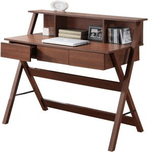 Afydecor Modern Three Drawer Study Table With Criss Cross Legs (product Code)_3133