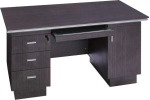 Afydecor Contemporary Three Drawer Study Table With Keyboard Drawer(product Code)_3134