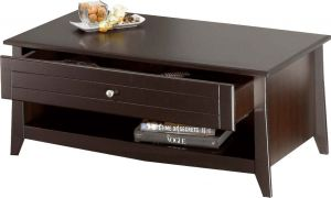 Afydecor Transitional Styled Coffee Table With Sleek Laminated Top(product Code)_3422