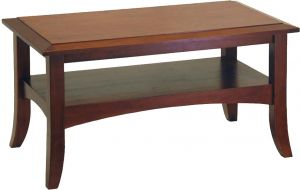 Afydecor Transitional Coffee Table With Shaker Style Legs (product Code)_3449