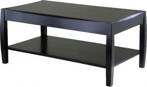 Afydecor Modern Coffee Table With Stylish Concaved Wooden Base (product Code)_3451