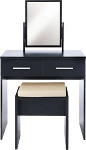 Afydecor Contemporary Vanity Table With Waterfall Leg Style For A MOD Appeal (product Code)_3474