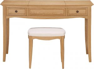 8f577da9c Afydecor Classic Desk Style Vanity Table With Cushioned Stool(product  Code) 3478