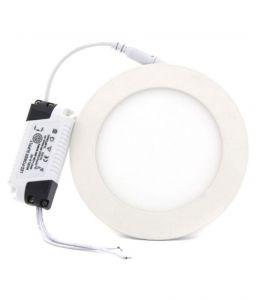 12w LED Round Panel Lights Pack Of 2 Pics.