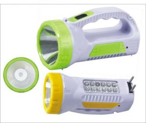 Rechargeable 2 In 1 LED Torch Cum Portable Emergency Light