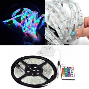 5 Meter 300 LED Smd Flexible Light Strip Lamp Decorative With Wireless Remote