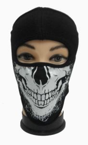 Pollution Face Skull Design Mask For Bike Riding/walk/cycle/trafic Man Women