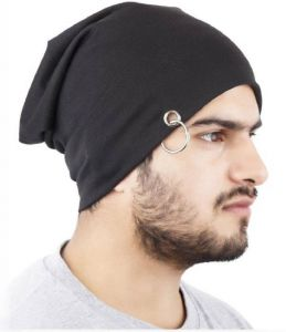 Beanie Cap With Ring Cap