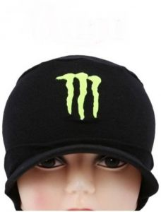Black Monster (skull) Head Hat For Sports Cap