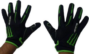Monster Full Women Riding Gloves (l, Multicolor)