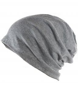 Grey Beanie Cap For Boys Girls