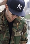 Ny Hip Hop Cap Baseball Cap Hat Headgear- Adjustable Free Size (black)