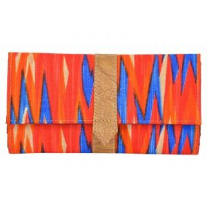 Azzra Red Wallet Clutch For Women (code - Awwc0104-rdbl)