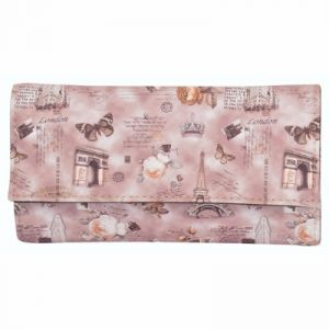 Azzra Brown Wallet Clutch For Women (code - Awwc0110-brwn)