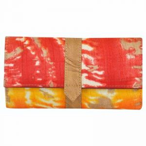 Clutches - Azzra Red Wallet Clutch for Women  (Code - AWWC0111-RED)