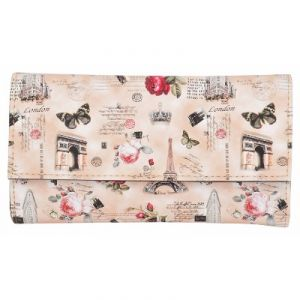 Azzra Wallets, Purses - Azzra Cream Wallet Clutch for Women  (Code - AWWC0118-CREM)