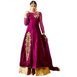 Bollywood replica sarees and lehengas - Bollywood Replica Designer Pink Tapeta and Stone Work Lehengas - 121F4F04DM