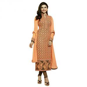 Bollywood replica anarkali suits and salwar kameez - BollyWood Replica Designer Prachi Desai Georgette Indian Stylish  Party wear Salwar Kameez. - 137F4F04DM