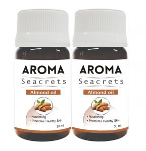 Aroma Seacrets Almond Oil (30ml) - Pack Of 2