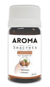 Aroma Seacrets Cedarwood Pure Essential Oil - 30ml