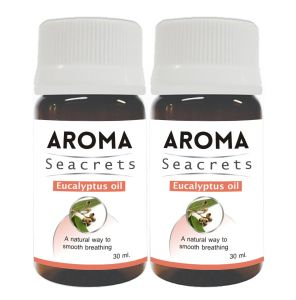 Aroma Seacrets Eucalyptus Oil (30ml) - Pack Of 2