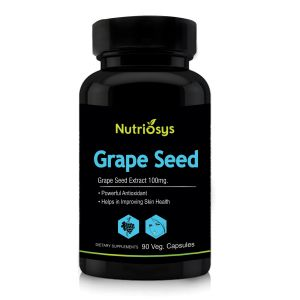 Nutriosys Grape Seed - 100mg (90 Veg Capsules)