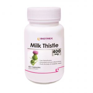Biotrex Milk Thistle - 400mg (60 Capsules)