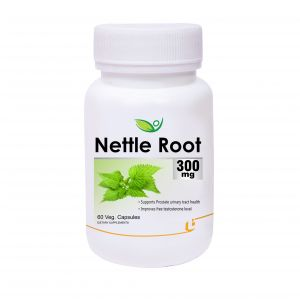 Biotrex Nettle Root Extract 300mg - 60 Veg Capsules