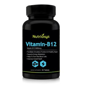 Nutriosys Vitamin B12 5000mcg (90 Tablets)