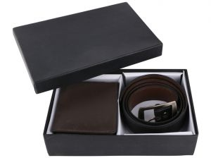 Irin Bi Wallet And Belt Gift Set For Men