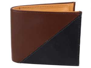 Irin Two Tone Bi Fold Foam Wallet For Men