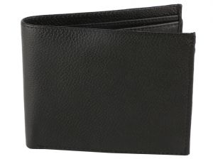 Irin Black Geniune Soft Leather Bi Fold Wallet For Men