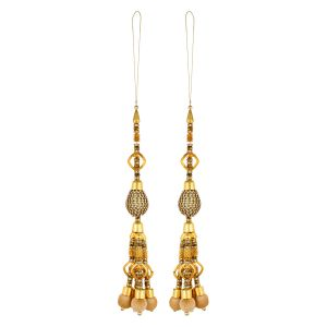 Aarti Creation Handmade Golden Latkan(22)