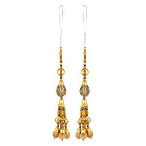 Latkan lace - Aarti Creation Handmade Golden Latkan(22)