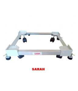 Sarah Adjustable Top Load Fully Automatic Washing Machine Trolley With Screwjack