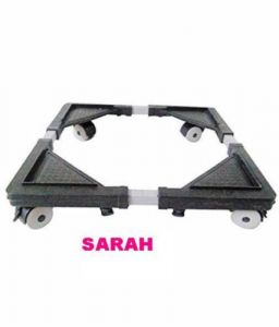 Sarah Adjustable Fridge / Top Loading Fully Automatic Washing Machine Trolley