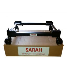 Johnson & Johnson,Sarah,Spice Furniture - SARAH Adjustable Top Loading Fully Automatic Washing Machine Trolley / Stand -105