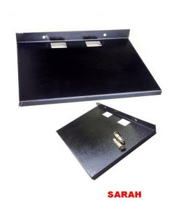 Sarah Electronics - SARAH Metal Set Top Box / DVD Player Wall Mount Bracket / Stand / Tray - 103