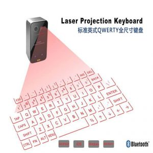 New Laser Keyboard Portable Virtual Laser Keyboard And Mouse For Ipad iPhone Tablet Pc, Bluetooth Projection Projected Keyboard