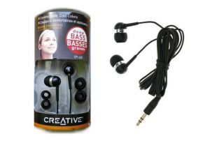 Panasonic,Vox,Fly,Quantum,Creative,Sandisk Mobile Phones, Tablets - Box Pack Creative Ep630 In Earphones