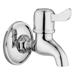 Oleanna Magic Brass Bib Cock Silver Taps & Faucets