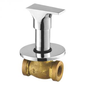 Oleanna Global Brass Concealed Stop Cock Silver Taps & Fittings
